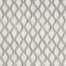 Grey/Ivory/Beige Ikat Decorator Fabric by Kravet