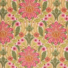 Begonia Pink Decorator Fabric by RM Coco