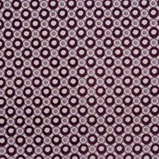 Taupe/Aubergine Modern Decorator Fabric by Groundworks