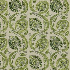 Fresh Green Decorator Fabric by RM Coco