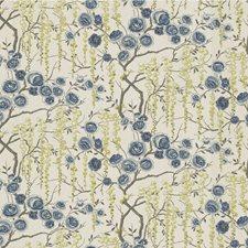 Ultramarine Botanical Decorator Fabric by Kravet