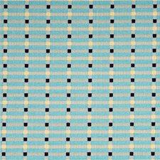 Aqua/Indigo/Linen Modern Decorator Fabric by Baker Lifestyle