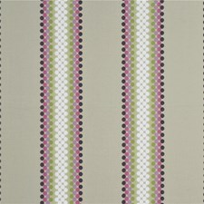 Lime/Fuchsia/Lilac Decorator Fabric by Baker Lifestyle