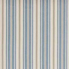 Delft Stripes Decorator Fabric by Baker Lifestyle