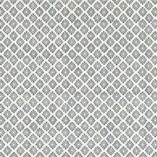 Indigo Diamond Decorator Fabric by Baker Lifestyle