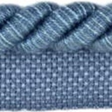 Stripes Light Blue Trim by Parkertex