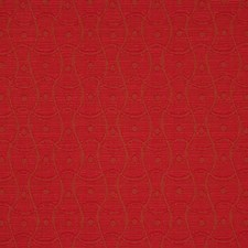 Ruby Floral Large Decorator Fabric by RM Coco