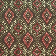 Morrish Red Decorator Fabric by Kasmir