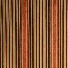 Carnelian Stripe Decorator Fabric by Pindler