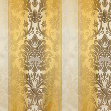 Gold/Cocoa Decorator Fabric by Scalamandre
