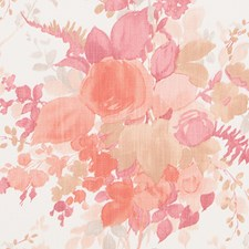 Blush Floral Large Decorator Fabric by Duralee