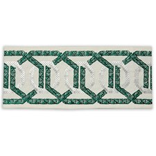 Tape Braid Emerald Trim by Pindler
