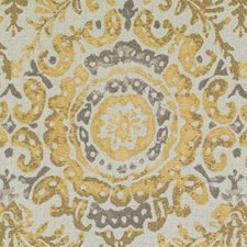 Yellow Chenille Decorator Fabric by Duralee