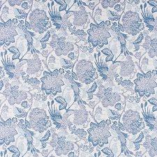 Indigo Ocean Decorator Fabric by Scalamandre