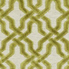 Wasabi Geometric Decorator Fabric by Duralee