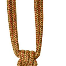 Umber Beaded Tieback Trim by RM Coco