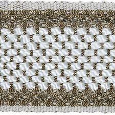 Braids Titanium Trim by Kravet