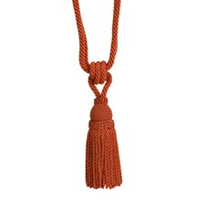 Tassel Tieback-Single Rust Trim by Brunschwig & Fils