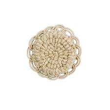 Button Stone Trim by Brunschwig & Fils