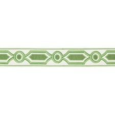 Tapes Green Trim by Brunschwig & Fils