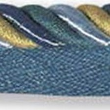 Cord With Lip Yellow/Gold/Blue Trim by Kravet
