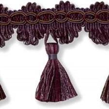 Tassel Fringe Purple Trim by Kravet