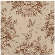 Terracotta Decorator Fabric by Stout
