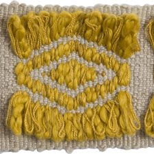 Braids Grey/Yellow Trim by Groundworks