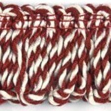 Loop Fringe Red Trim by Baker Lifestyle