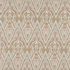Orange/Rust/Pink Transitional Decorator Fabric by JF