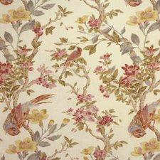 Cream Botanical Decorator Fabric by Lee Jofa
