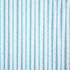Aqua Stripe Decorator Fabric by Pindler