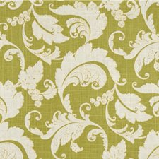 Green/White Botanical Decorator Fabric by Kravet
