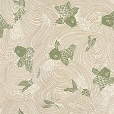 Kelp Asian Decorator Fabric by Kravet