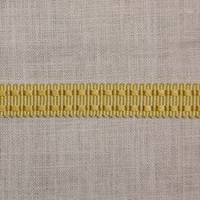 Modified Pattern Yellow/Gold Trim by Scalamandre