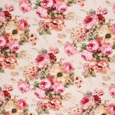Rose Red Decorator Fabric by RM Coco