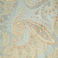 Blue/Cocoa Decorator Fabric by Scalamandre