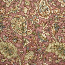 Yasmin-Rose Print Decorator Fabric by Lee Jofa