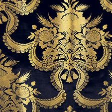 Midnight Decorator Fabric by Scalamandre