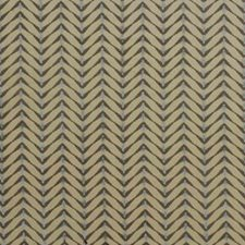 Beige/Aqua Contemporary Decorator Fabric by Groundworks