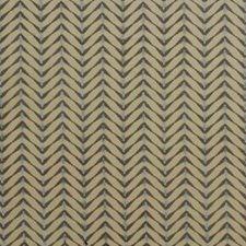 Beige/Aqua Modern Decorator Fabric by Groundworks