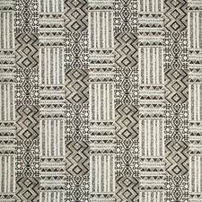 Charcoal/Ivory Ethnic Decorator Fabric by Kravet