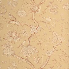Spice Toile Wallcovering by Stroheim Wallpaper