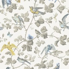 Yellow/Grey Wallcovering by Cole & Son Wallpaper