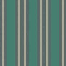 Teal/Gilver Print Wallcovering by Cole & Son Wallpaper