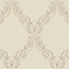 Beige/White/Buff Harlequin Wallcovering by York