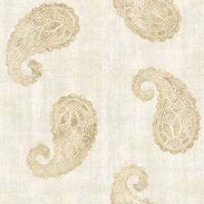 Cream Traditional Wallpaper Wallcovering by Brewster