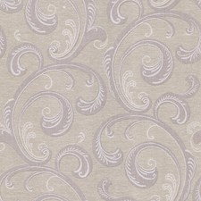 Purple Scroll Wallcovering by Brewster
