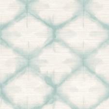 Aqua Trellis Wallcovering by Brewster