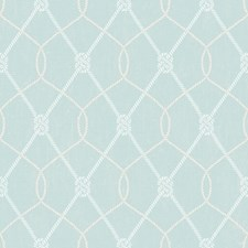 Aqua Coastal Wallpaper Wallcovering by Brewster